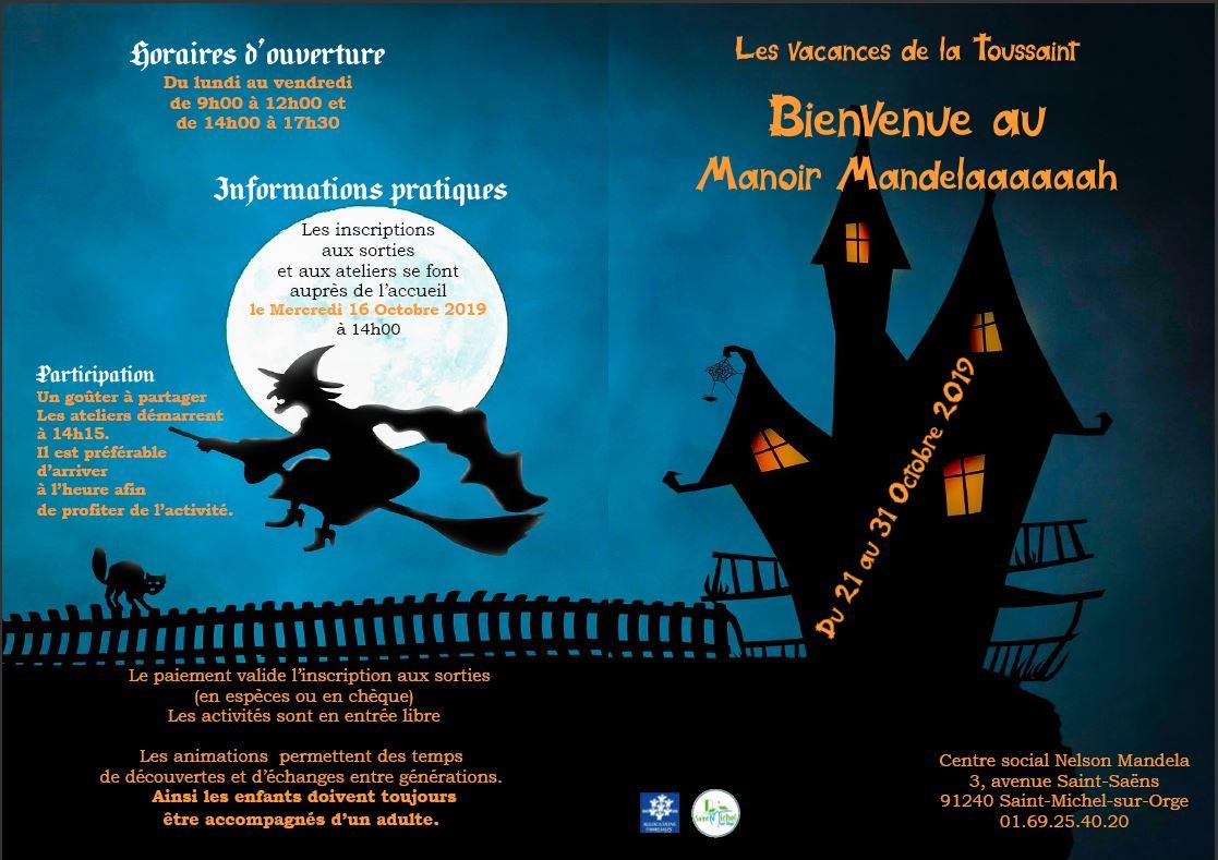 Programme des vacances de la toussaint 2019 - Les vacances de la toussaint 2020 ...